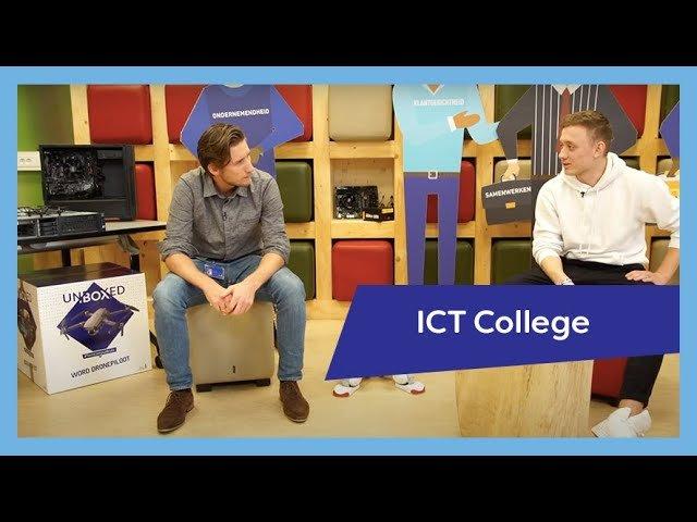 YouTube video - Collegepresentatie ICT College | Nieuwegein